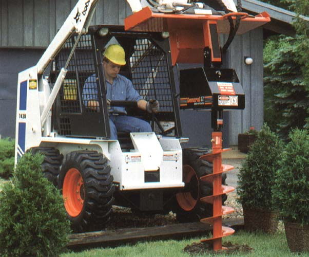 Where to find AUGER ATTACHMENT SKID LOADER in Centerville