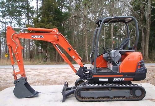 Where to find EXCAVATOR KUBOTA KX71 in Centerville