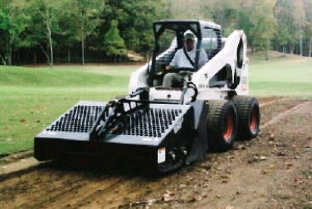 Where to find SKID LOADER ROCK PICKER ATT. in Centerville