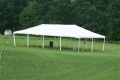 Where to rent CANOPY 20  X 40  WHITE in Centerville OH