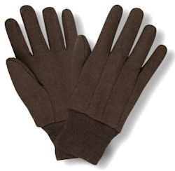 Where to find .WORK GLOVES BROWN JERSEY in Centerville