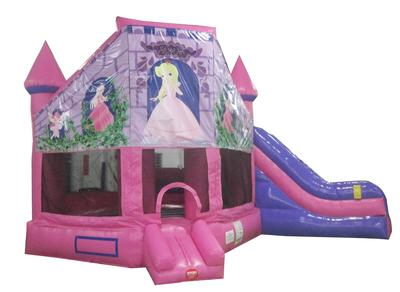 Where to find INFLATABLE CASTLE 2 IN 1 W SLIDE BOUNCER in Centerville