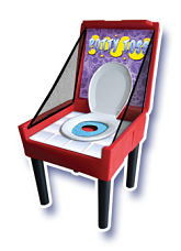 Where to find BOX GAME POTTY TOSS in Centerville