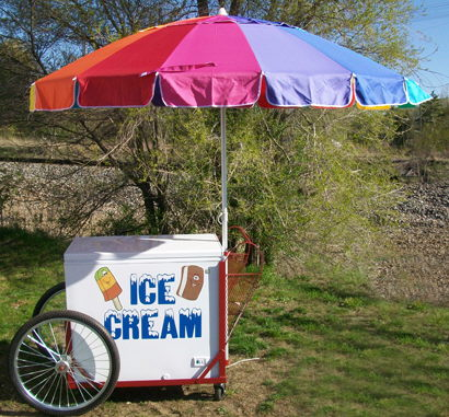 Where to find ICE CREAM CART in Centerville