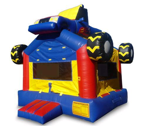 Where to find INFLATABLE 13X13 MONSTER TRUCK BOUNCE in Centerville