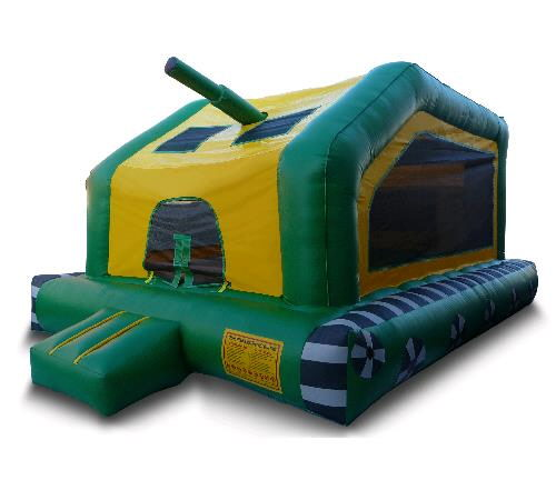 Where to find INFLATABLE 13X15X12 TANK BOUNCER in Centerville