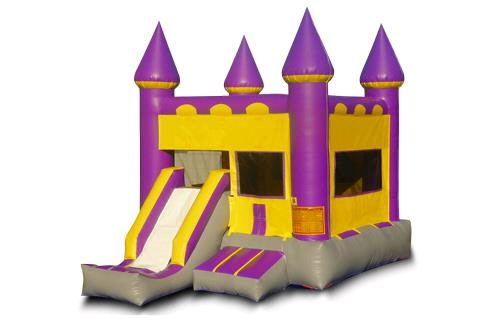 Where to find INFLATABLE PURPLE CASTLE W SLIDE BOUNCER in Centerville